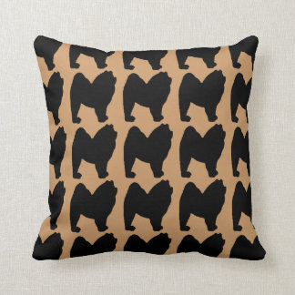 For the Love of Chow Chow Throw Pillow