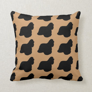 For the Love of Cocker Spaniel Throw Pillow