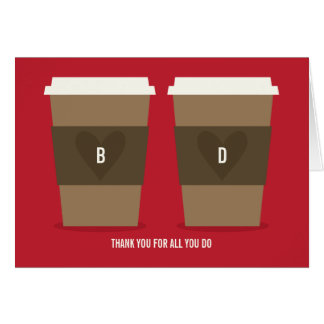 For the Love of Coffee Card