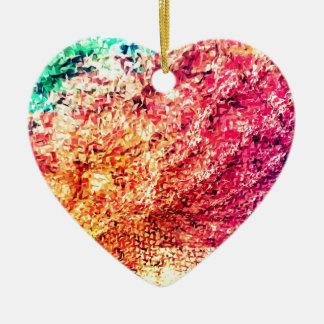 For the Love of Colour - Kaleidoscope Ceramic Ornament