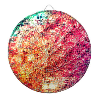 For the Love of Colour - Kaleidoscope Dartboard