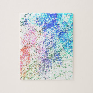 For the Love of Colour - Kaleidoscope Pastel Jigsaw Puzzle