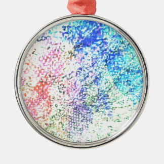 For the Love of Colour - Kaleidoscope Pastel Metal Ornament