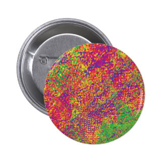 For the Love of Colours - Psychadelic 2 Inch Round Button