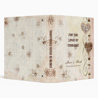 For the Love of Cooking, New Bride's Cookbook Bind Binders