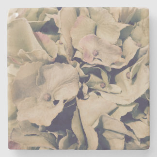 For the Love of Decor - Hydrangea Marble Coaster