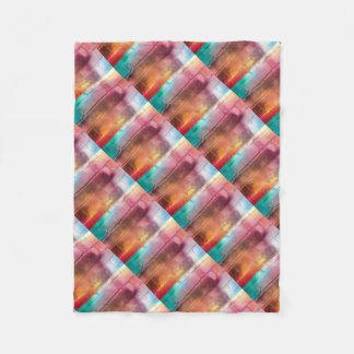 For the Love of Decor - Multi Brick Wall Art Fleece Blanket