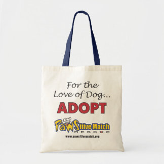 For the Love of Dog fabric bag