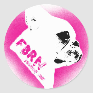 For the Love of Frenchies - Rescue Me Classic Round Sticker