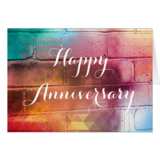 For The Love of Giving - Happy Anniversary Card