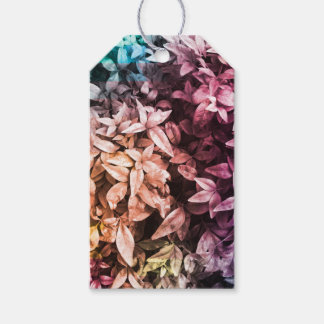 For the Love of Giving - Multi Colour Floral Gift Tags