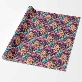 For the Love of Giving - Multi Colour Floral Wrapping Paper