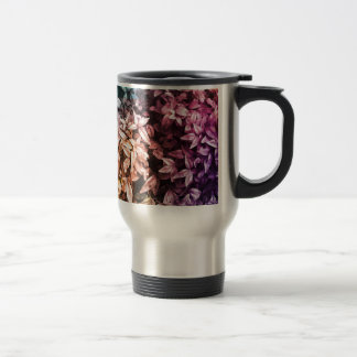 For the Love of Giving - Multi Floral Travel Mug