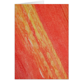 For the Love of Giving - Ombre Sunset Card