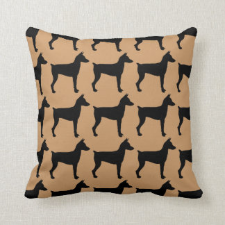 For the Love of Miniature Pinschers Throw Pillow