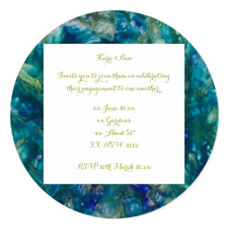 For the Love of My Life - Circle Paint Invitations