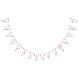 For the Love of Parties - Candy Bunting Flags