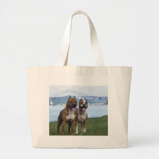 For the Love of Pitbulls Tote Bag