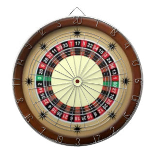 For The Love of Roulette Dartboard