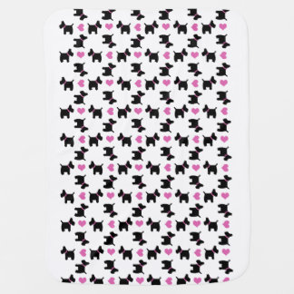 For the love of Scottish Terriers Baby Blanket