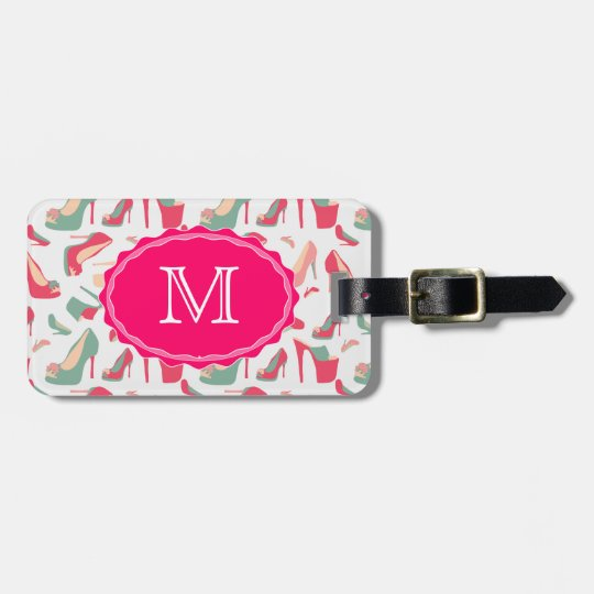For the Love Of Shoes Bag Tag