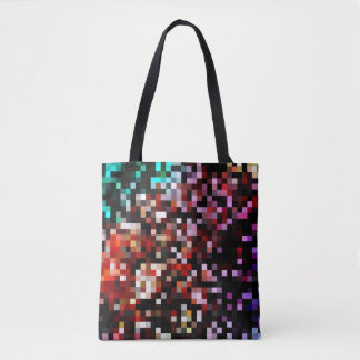 For the Love of Shopping - Pixel Tote Bag