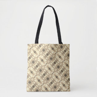 For the Love of Shopping - Sepia Glitter Tote