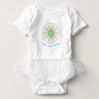 For The Love Of The Fae - I'm A Ickle Fairy Baby Bodysuit