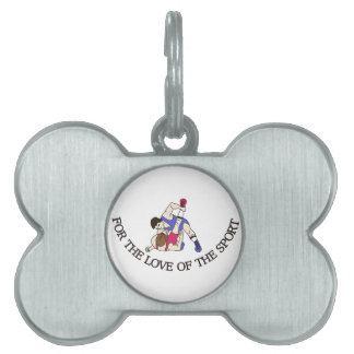 For the Love of the Sport Pet Tags