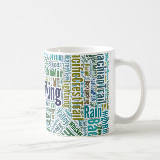 For the Love of the Trail - Blue Coffee Mug
