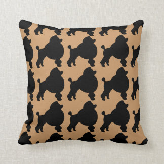 For the Love of Toy Poodles Throw Pillow