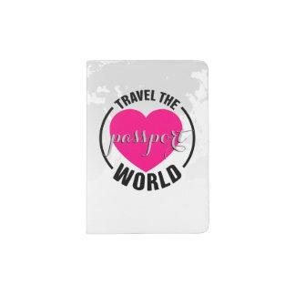 For the love of travel. passport holder