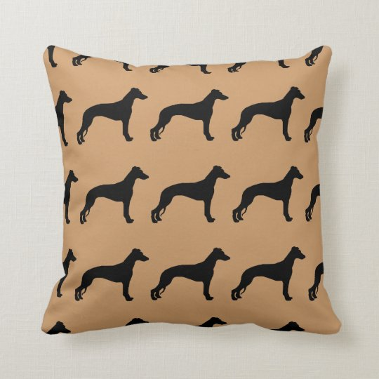 For the Love of Whippets Throw Pillow