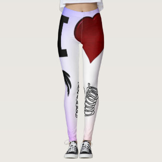 For the real Palm Springs Lovers Leggings