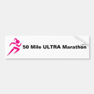 For the Runner Bumper Sticker