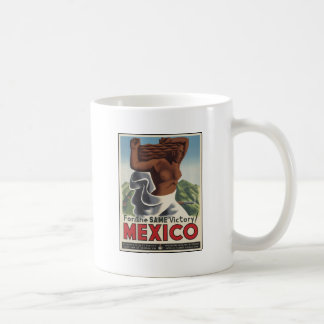 For The Same Victory Mexico Classic White Coffee Mug