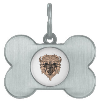 FOR THE TIME PET NAME TAG