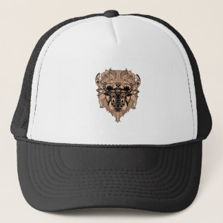 FOR THE TIME TRUCKER HAT