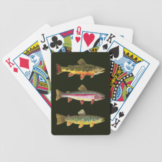 For the Trout Lover Poker Deck