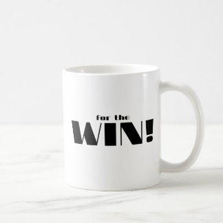 For The Win! Basic White Mug