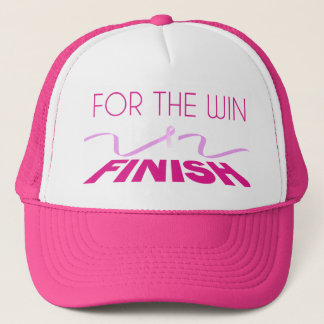 For the Win Breast Cancer Awareness Trucker Hat