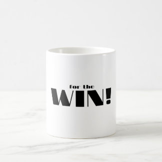 For The Win! Classic White Coffee Mug
