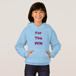 For The Win Girls' Hanes ComfortBlend® Hoodie