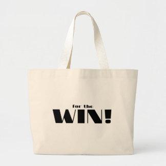For The Win! Jumbo Tote Bag