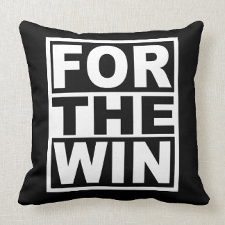 For the Win Throw Pillow