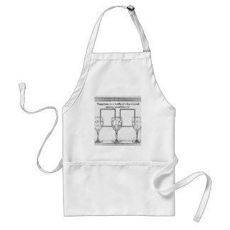 For the Wine Lover Standard Apron