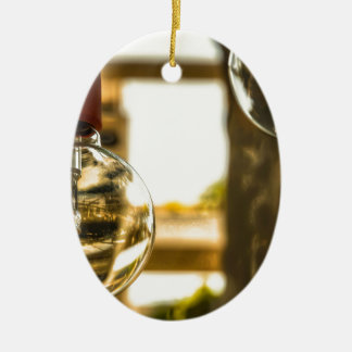For when you need that lightbulb moment ceramic oval ornament
