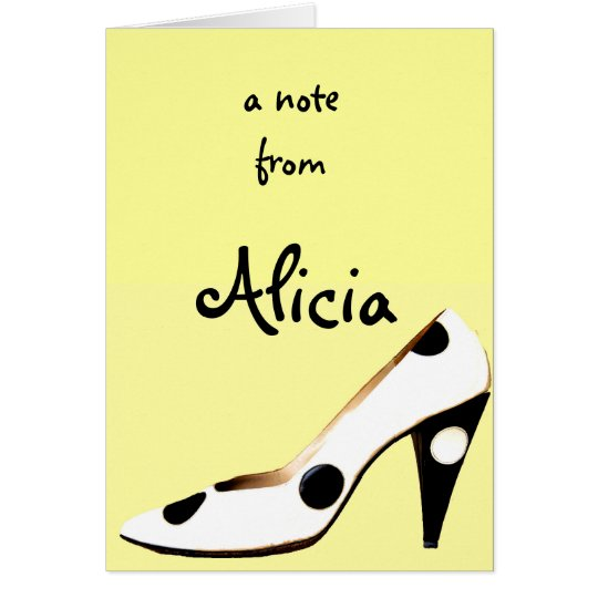 For Women Who Love Shoes Card