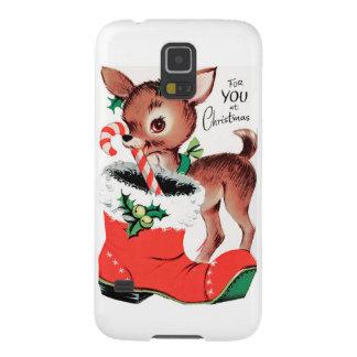 For You at Christmas Reindeer Galaxy S5 Covers