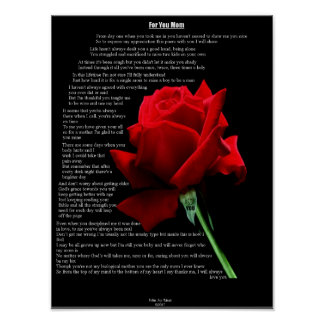 For You Mom Poster